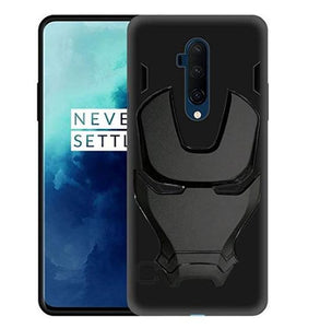 Ironman Engraved logo silicon Case for Oneplus 7t Pro