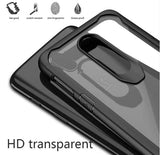 Shockproof transparent silicone protection case for Oneplus 7