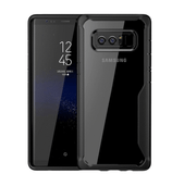 Shockproof silicone protective transparent Case for Samsung note 8
