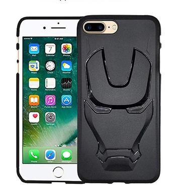 Ironman Engraved Silicone Case For Apple Iphone 7 plus