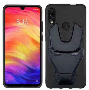 Ironman Engraved Silicon Case for Redmi note 7