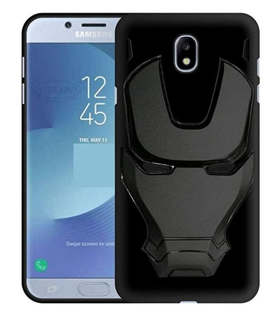 Ironman Engraved Silicone Case For Samsung J7 pro