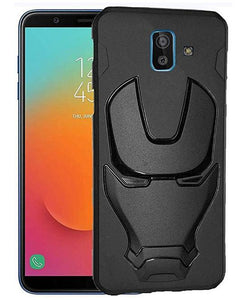 Ironman Engraved Silicone Case For Samsung J6 plus