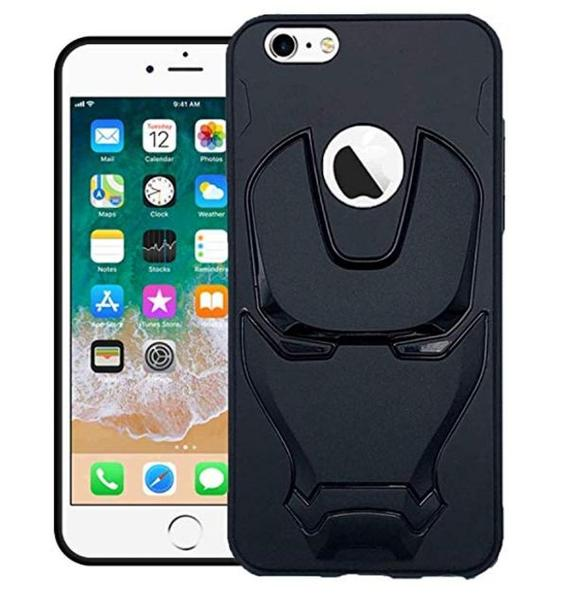 Ironman Engraved Silicone Case For Apple iphone 6/6s