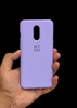 Purple Ultrasoft Silicone Case For OnePlus 6T