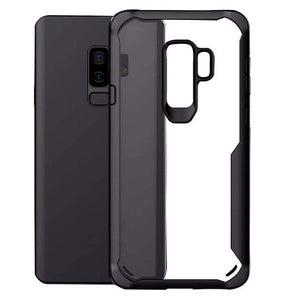 Shockproof silicone protective transparent Case for Samsung S9 Plus