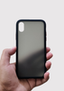 Black Smoke Silicone Protection Case For Apple Iphone XR
