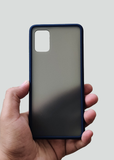 Blue Smoke Silicone Protection Case For Samsung A71