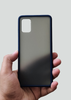 Blue Smoke Silicone Protection Case For Samsung A31
