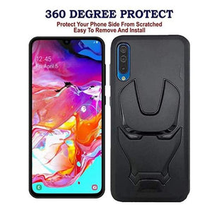 Ironman Engraved Silicone Case For Samsung Galaxy A50