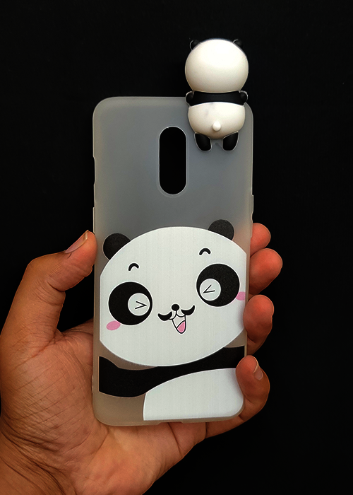 Big Panda 3D Silicone Case For OnePlus 7