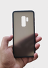 Black Smoke Silicone Protection Case For Samsung S9 Plus