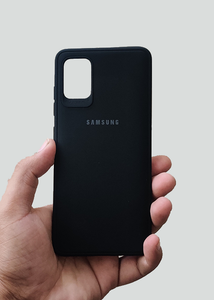 Black Ultrasoft Silicon Case For Samsung A51