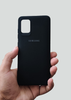 Black Ultrasoft Silicon Case For Samsung A31