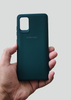 Dark Green Ultrasoft Silicon Case For Samsung A31