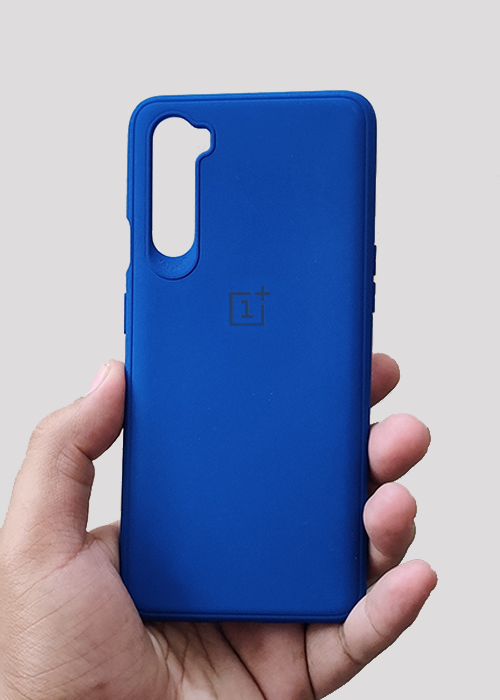 Dark Blue Ultrasoft Silicon Case For OnePlus Nord