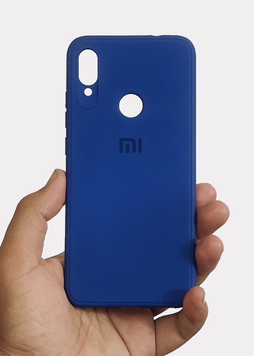 Dark Blue Ultrasoft Silicone Case For Redmi Note 7 Pro
