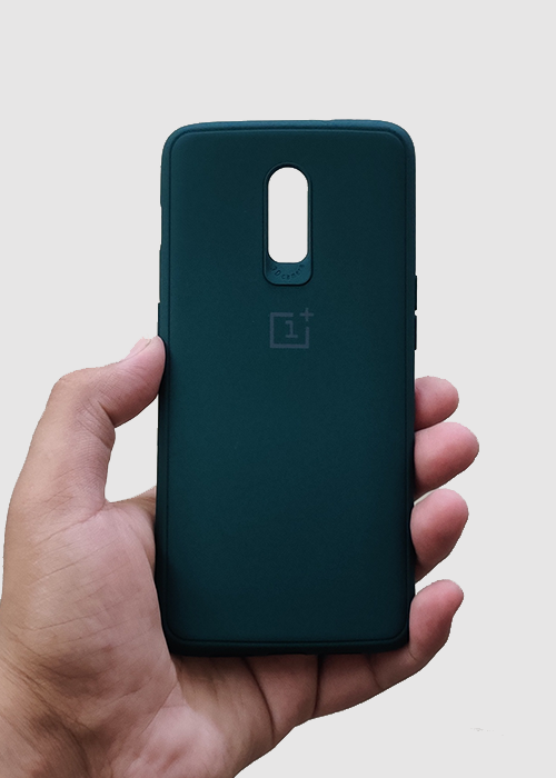 Dark Green Ultrasoft Silicone Case For OnePlus 7