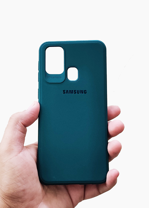 Dark GreenUltrasoft Silicon Case For Samsung A21S