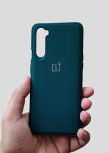 Dark Green Ultrasoft Silicon Case For OnePlus Nord