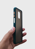 Dark Green Smoke Silicone Case For Redmi Note 9 Pro