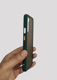 Dark Green Smoke Silicone Protection Case For OnePlus Nord