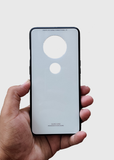 White Glass Case With 360 Degree Protection For OnePlus 7T