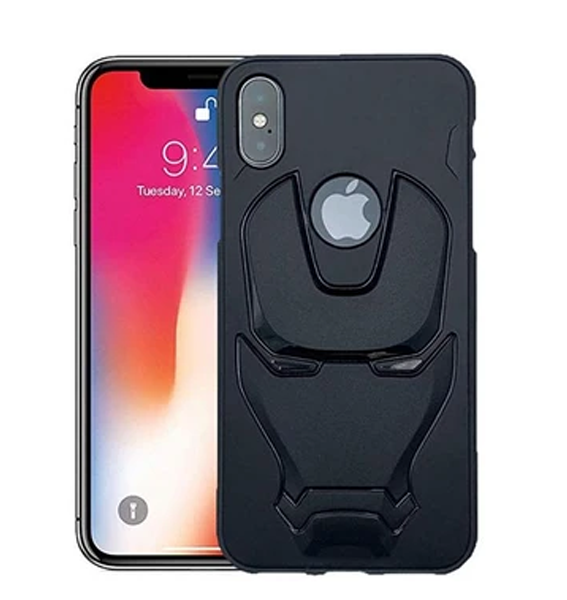 Ironman Engraved Silicone Case For Apple iphone X/Xs