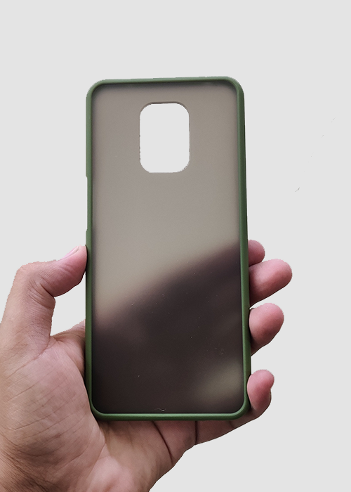 Green Smoke Silicone Case For Redmi Note 9 Pro