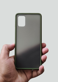 Green Smoke Silicone Protection Case For Samsung A71