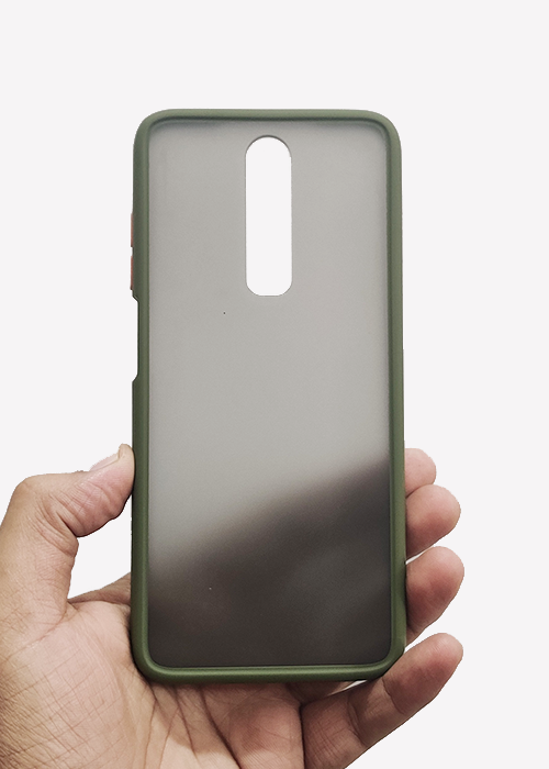 Green Smoke Silicone Case For Poco X2