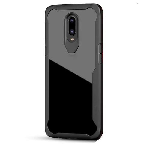 Shockproof transparent silicone protection case for Oneplus 6t