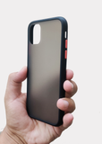 Black Smoke Silicone Protection Case For Apple Iphone 11 Pro Max