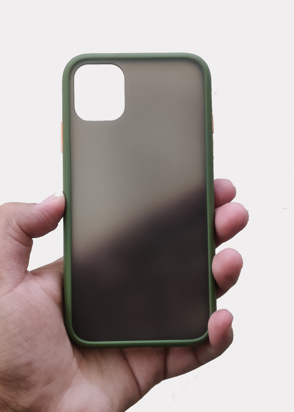 Green Smoke Silicone Protection Case For Apple Iphone 11