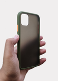 Green Smoke Silicone Protection Case For Apple Iphone 11 Pro Max