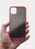 Red Smoke Silicone Protection Case For Apple Iphone 11
