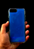 Blue Glow In the Dark Silicone Case For Iphone 7 Plus