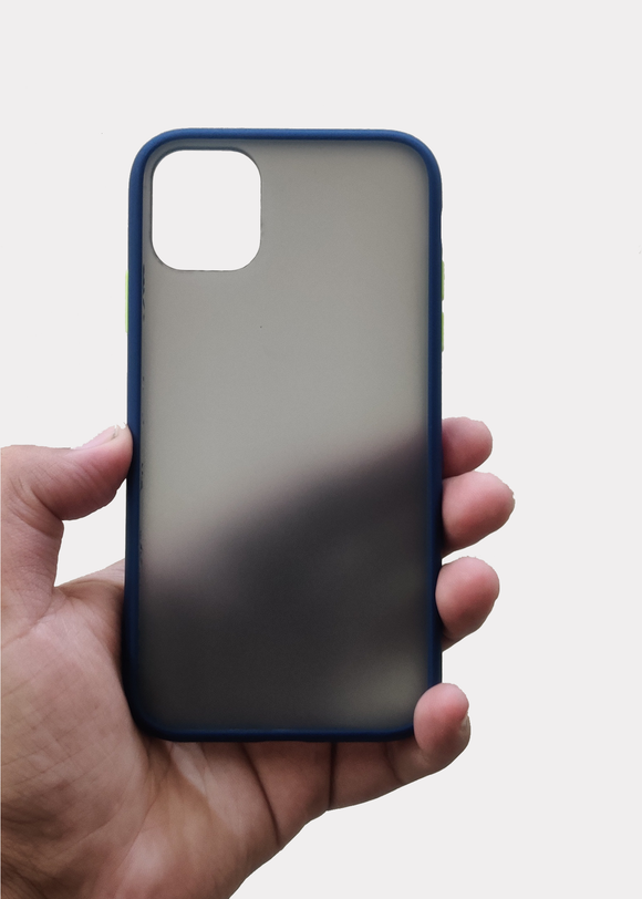 Blue Smoke Silicone Protection Case For Iphone 11 Pro Max