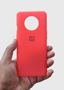 Red Ultrasoft Silicon Case For Oneplus 7T