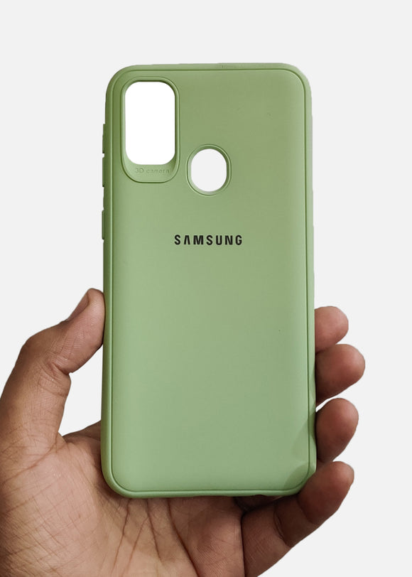 Light Green Ultrasoft Silicone Case For Samsung M21