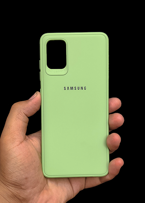 Light Green Ultrasoft Silicone Case For Samsung A51