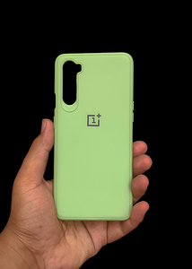 Light Green Ultrasoft Silicon Case For OnePlus Nord