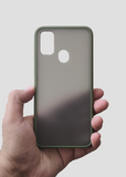 Green Smoke Silicone Protection Case For Samsung M30s