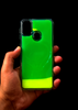 Green Glow In the Dark Silicone Case For Samsung M30s