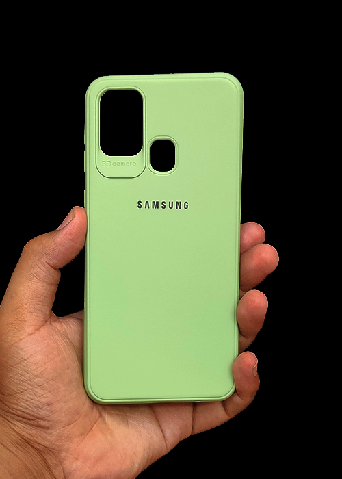 Light Green Ultrasoft Silicon Case For Samsung A21S
