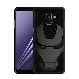 Ironman Engraved Silicone Case For Samsung J6