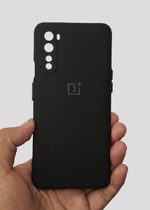 Black 3D Silicone Camera Protection Case For OnePlus Nord