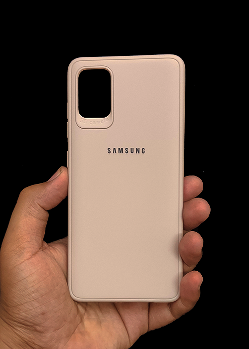 Peach Ultrasoft Silicon Case For Samsung A31