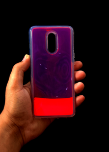 Pink Glow In the Dark Silicone Case For OnePlus 6T