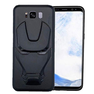 Ironman Engraved Silicone Case For Samsung S8 plus